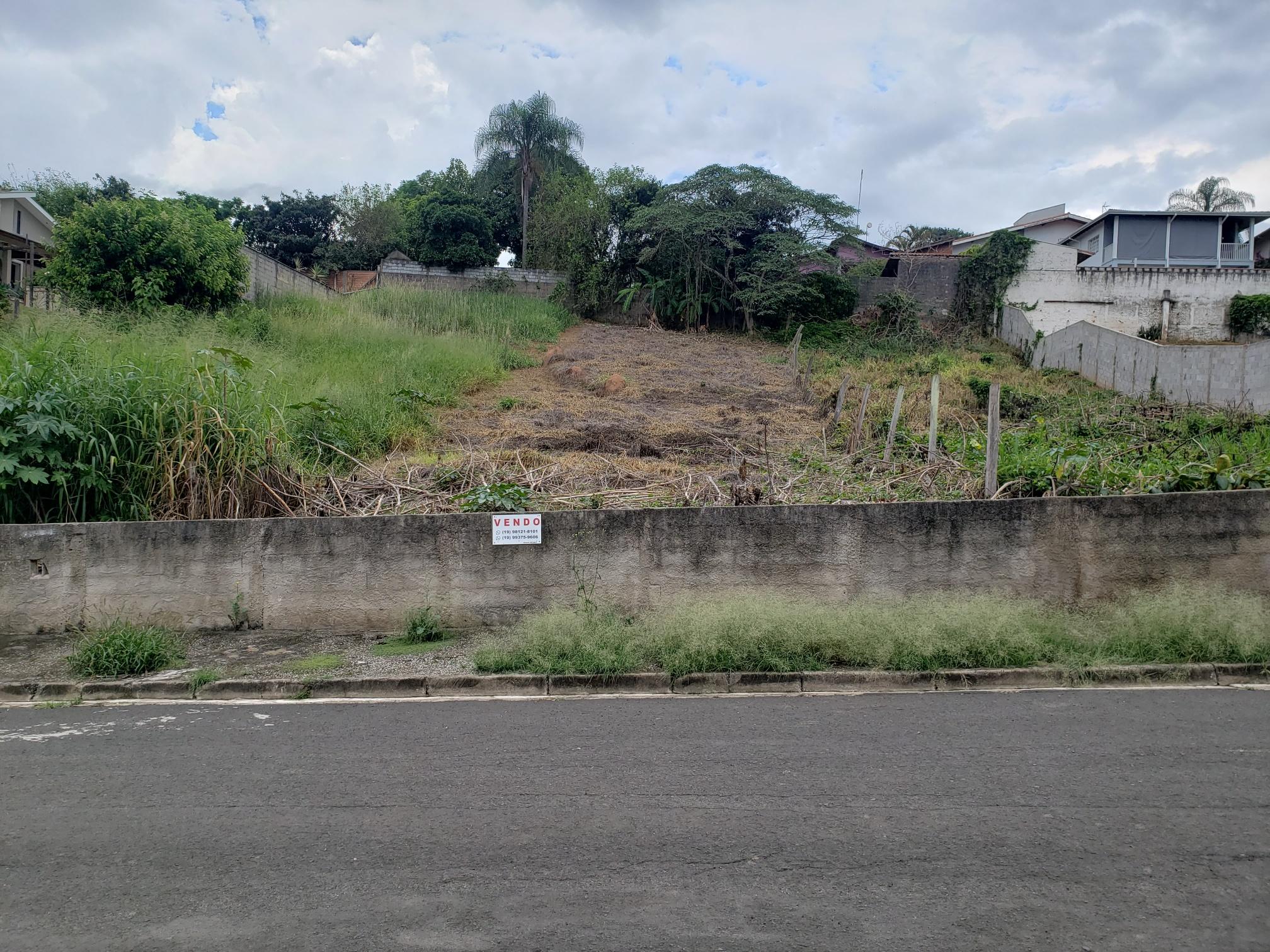 LOTE DE TERRENO PARA EDIFICAÇÃO RESIDENCIAL NO SANTAROSA – SOCORRO/SP